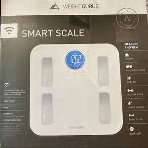 Other - WEIGHT GURUS Smart Scale wifi connect to phone app